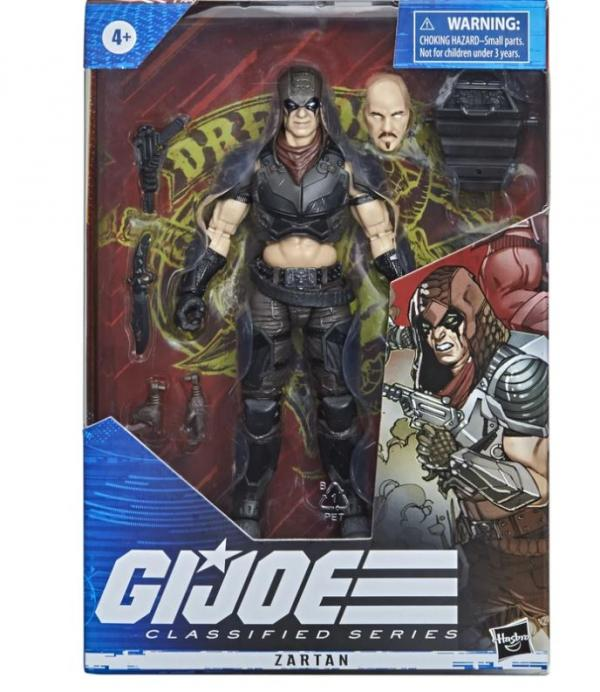 G.I. Joe Classified Series Figurine Zartan #23
