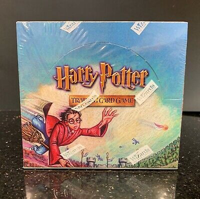 HARRY POTTER TRADING CARD GAME QUIDDITCH CUP SEALED BOX