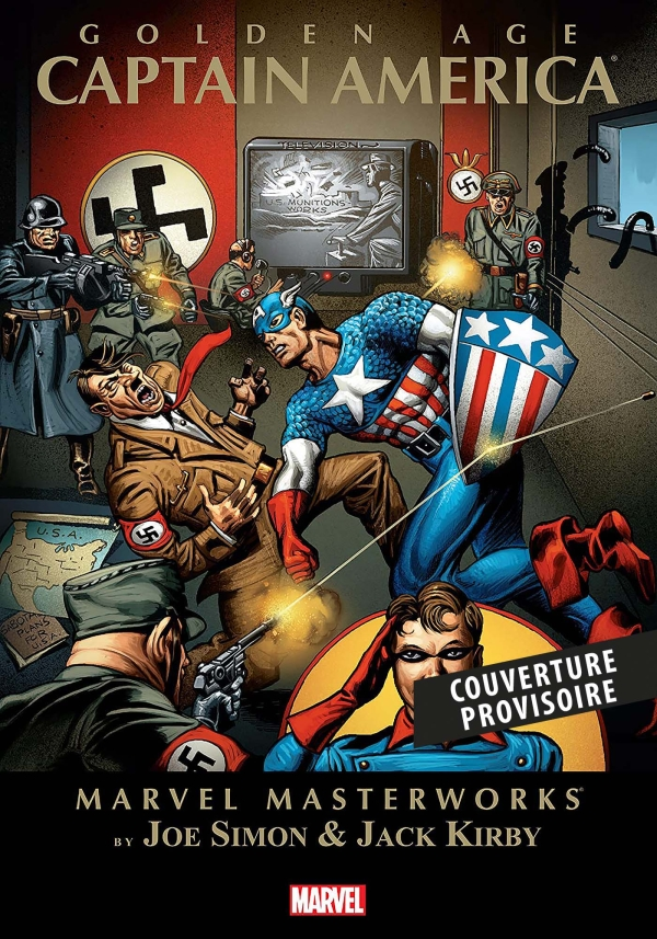 CAPTAIN AMERICA COMICS: L'INTEGRALE 1941 (T01) - (TOME 1)
