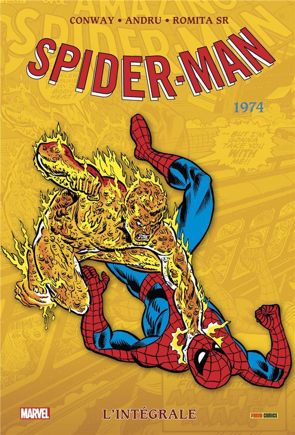 AMAZING SPIDER-MAN: L'INTEGRALE 1974 (T12 NOUVELLE EDITION)