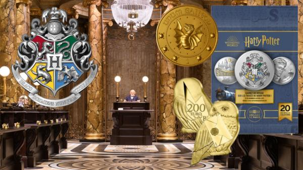 Harry Potter Mini-Médaille Monnaie de Paris