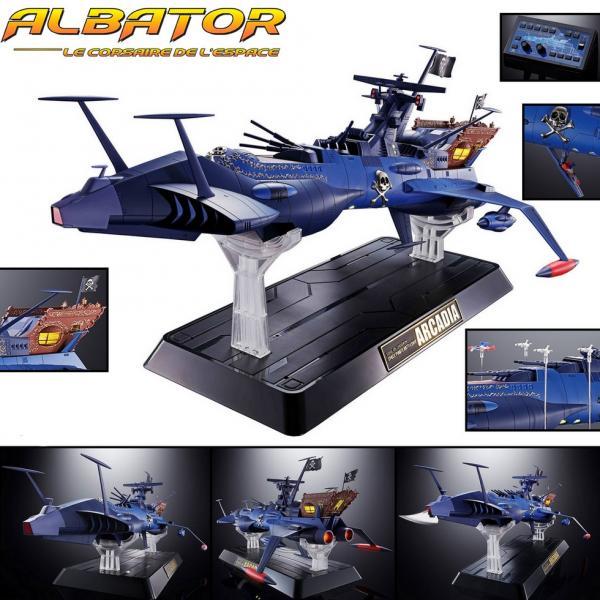 ALBATOR GX-93 Arcadia Soul of Chogokin