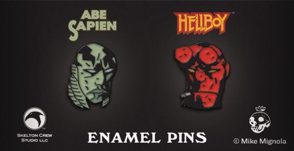PINS ABE SAPIEN - HELLBOY