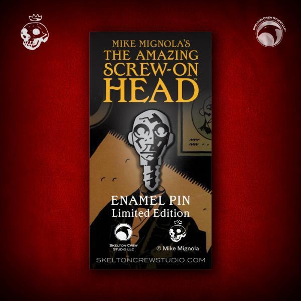 PINS THE AMAZING SCREW-ON HEAD