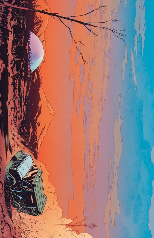 CROSSOVER #5 CVR C 10 COPY INCV SHAW VIRGIN