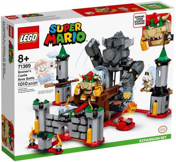LEGO SUPER MARIO BOWSER'S CASTLE BOSS BATTLE 71639