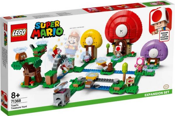 LEGO SUPER MARIO TOAD'S TREASURE HUNT 71368