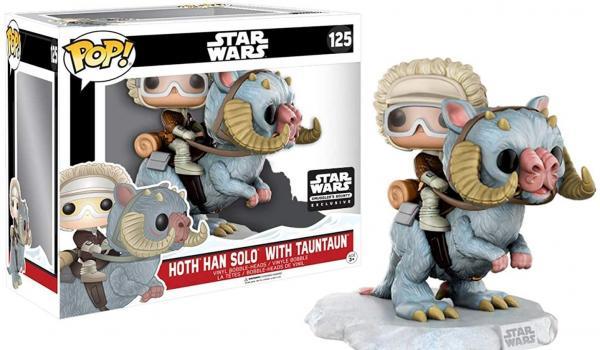 Hoth Han Solo With Tauntaun 125 (Boite endommagée)