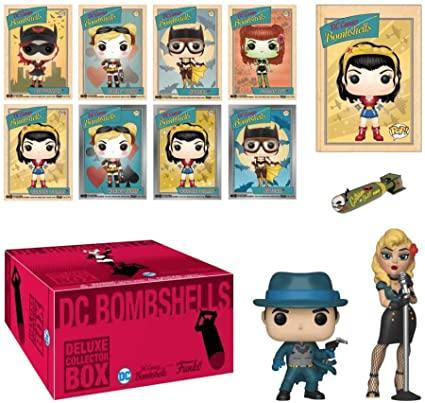 DC Bombshells Deluxe Collector Box