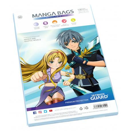 MANGA BAGS RESEALABLE (100)