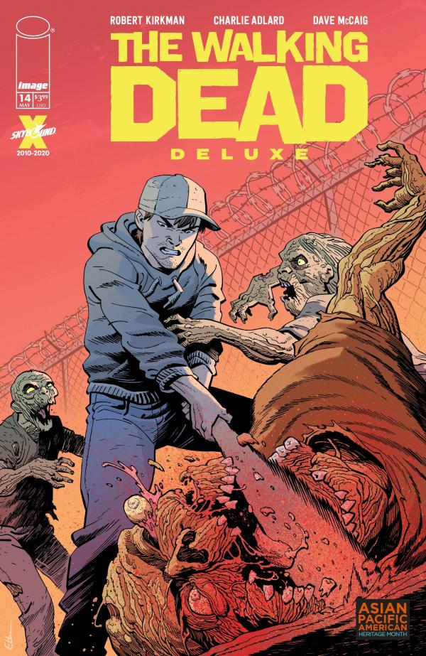 WALKING DEAD DLX #14 CVR D YOUNG AAPI VAR (MR)