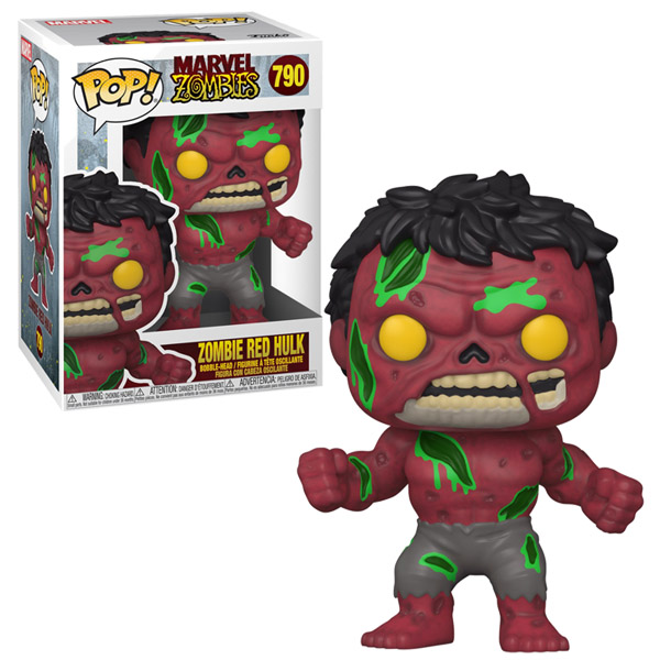 Zombie Red Hulk 790