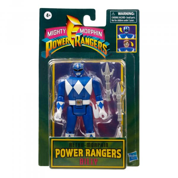 Retro Morphin Power Rangers Billy