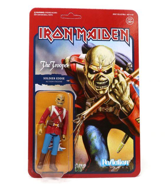 Iron Maiden wave 1 Soldier Eddie