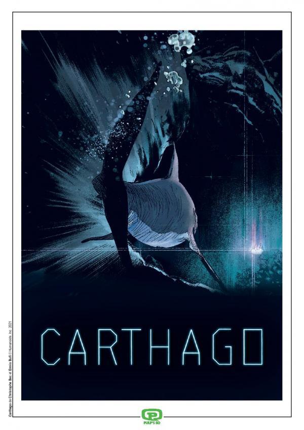 CARTHAGO T13 - ABZU EST NOTRE SEUL DIEU + EX LIBRIS PULP'S OFFERT