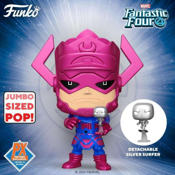 Galactus  With Silver Surfer 809