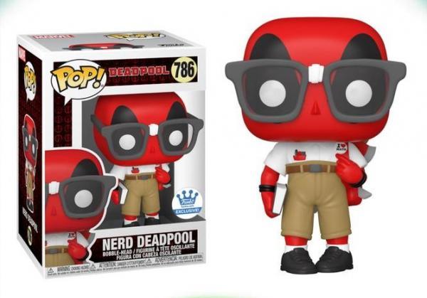 Nerd Deadpool 786