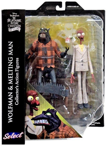 The Nightmare Before Christmas Wolfman & Melting Man