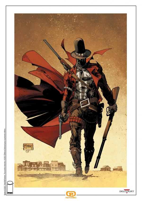 SPAWN UNDEAD - SPAWN THE UNDEAD - INTEGRALE + PRINT EXCLUSIF PULP'S OFFERT