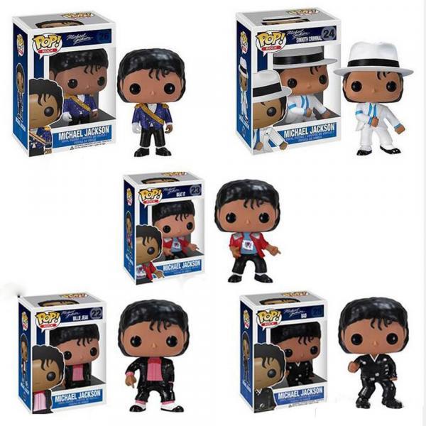 Collection des 5 Pops de Michael Jackson