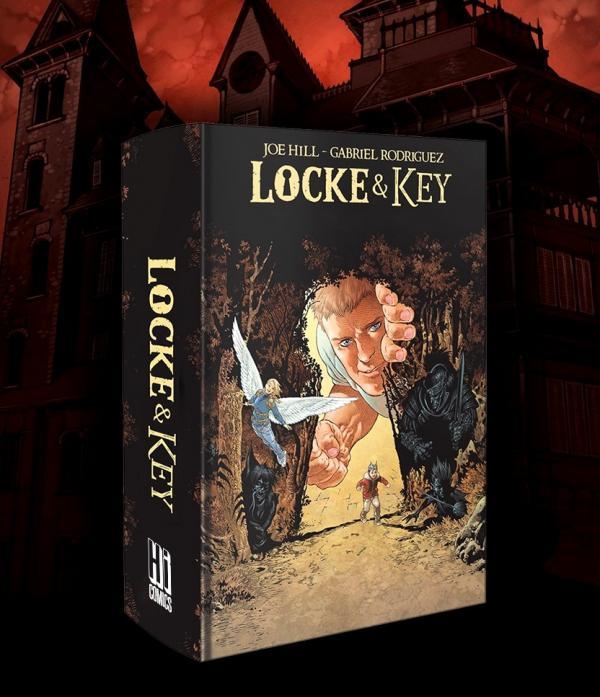 LOCKE & KEY : LOCKE & KEY - L'INTEGRALE + 2 PRINTs EXCLUSIF PULP'S OFFERT