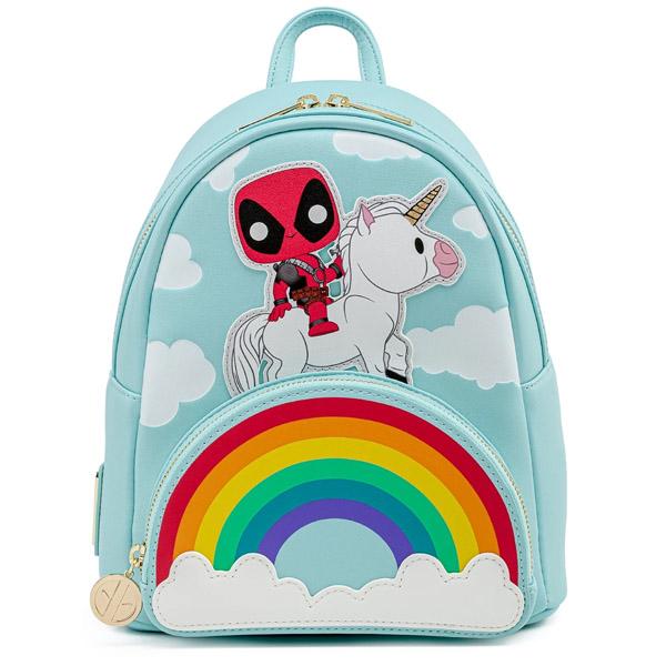 Sac A Dos Deadpool 30Th Anniv Unicorn Rainbow