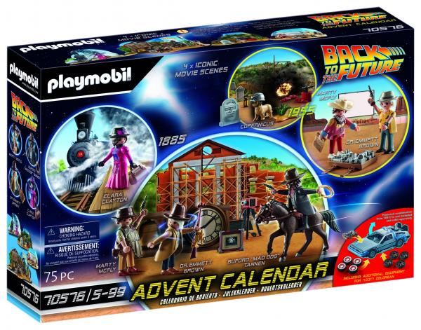 Back to the Future III Advent Calendar