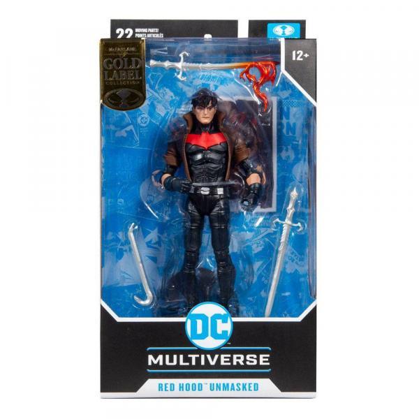 DC Multiverse Red Hood Unmasked (Gold Label)