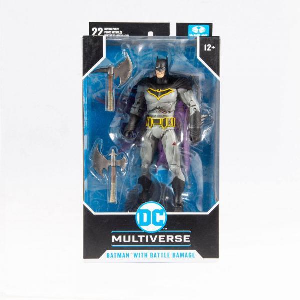 DC Multiverse Batman With Battle Damage Dark Night: Metal