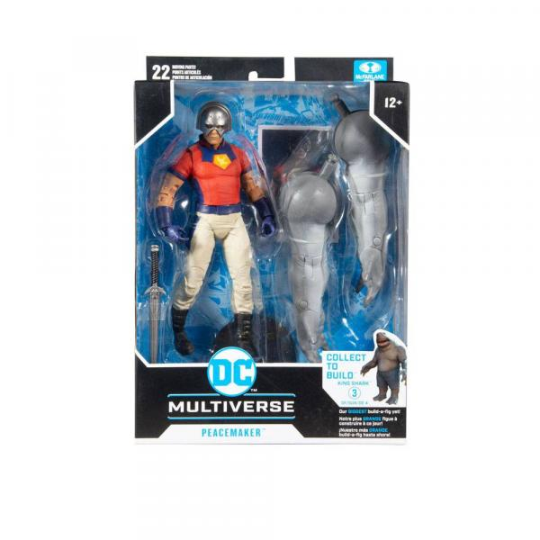 DC Multiverse Peacemaker Build A King Shark