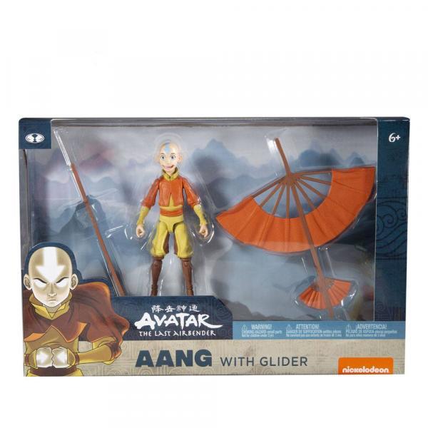 Avatar Le Dernier Maitre De L'air Figurine AANG With Glider