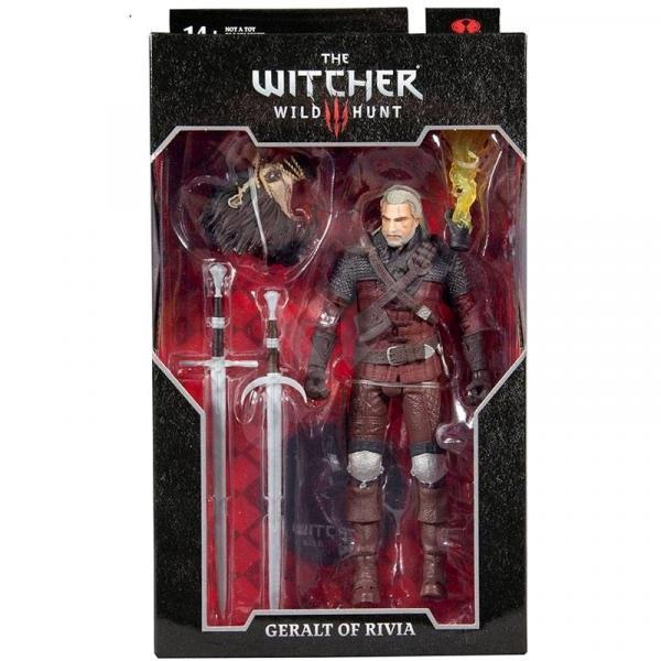 The Witcher 3: Wild Hunt Figurine Geralt Of Rivia  (Wolf Armor)
