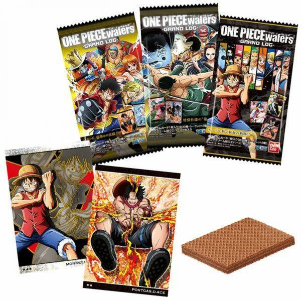 One Piece Gaufrette Chocolat + Carte