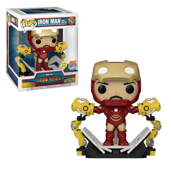 Iron Man With Gantry Glows In The Dark 905