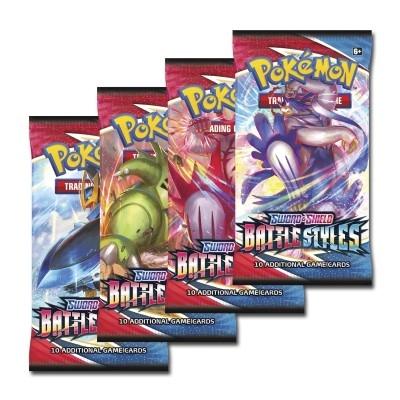 Booster Pokemon Battle Styles Anglais