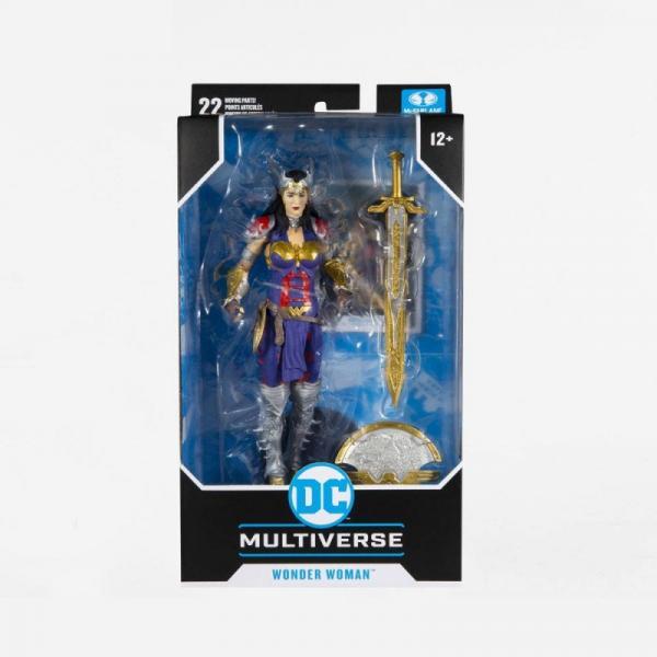 DC MULTIVERSE FIGURINE WONDER WOMAN DESIGNED BY TODD MCFARLANE 18 CM