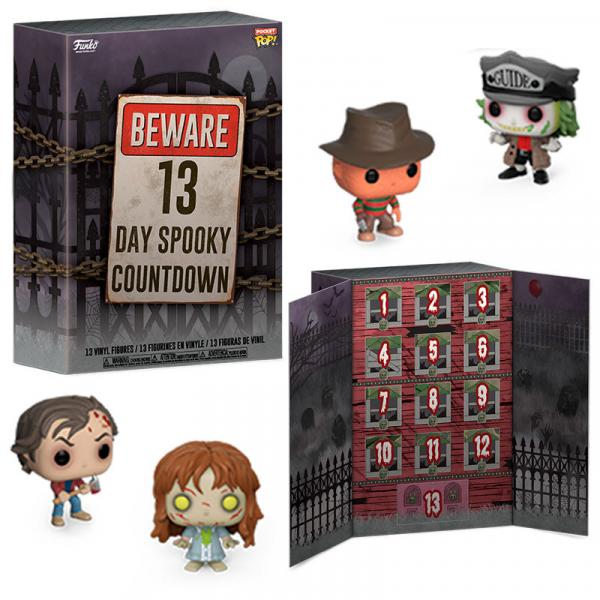 Calendrier de l'avent Halloween Beware 13 Day Spooky Countdown