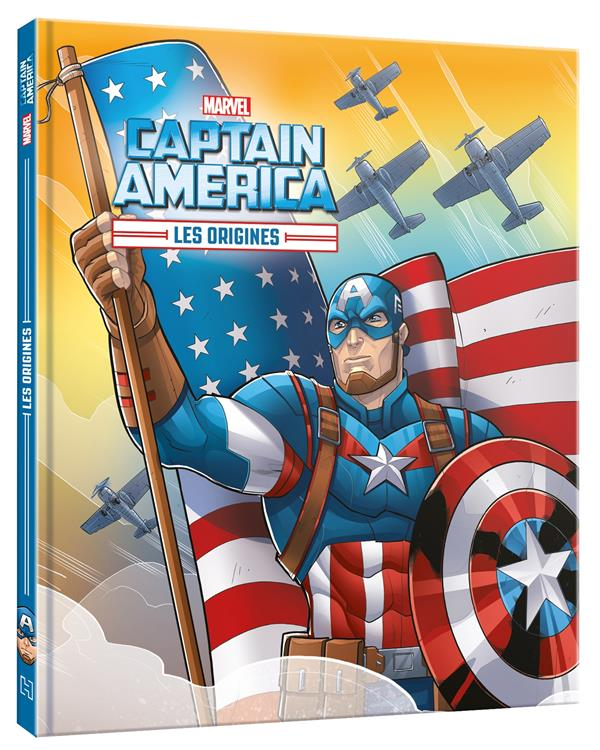 MARVEL - LES ORIGINES - CAPTAIN AMERICA