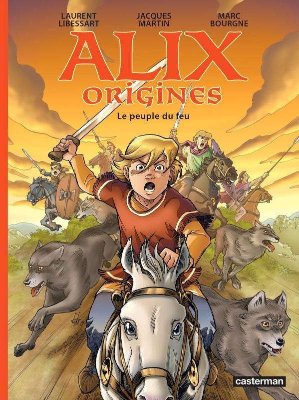 ALIX ORIGINES - T02 - LE PEUPLE DU FEU