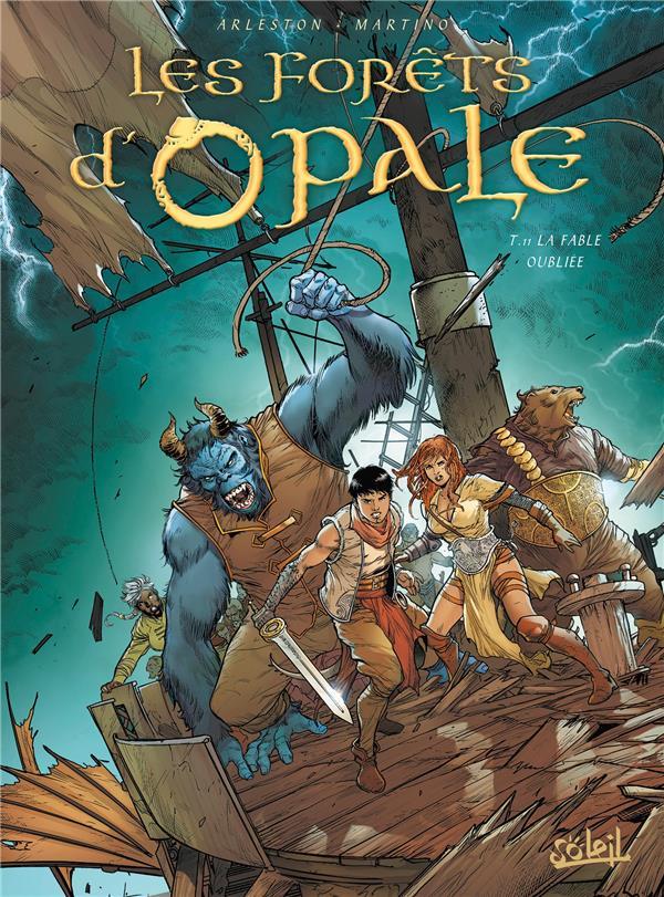 LES FORETS D'OPALE - FORETS D'OPALE T11 - LA FABLE OUBLIEE + EX LIBRIS PULP'S OFFERT