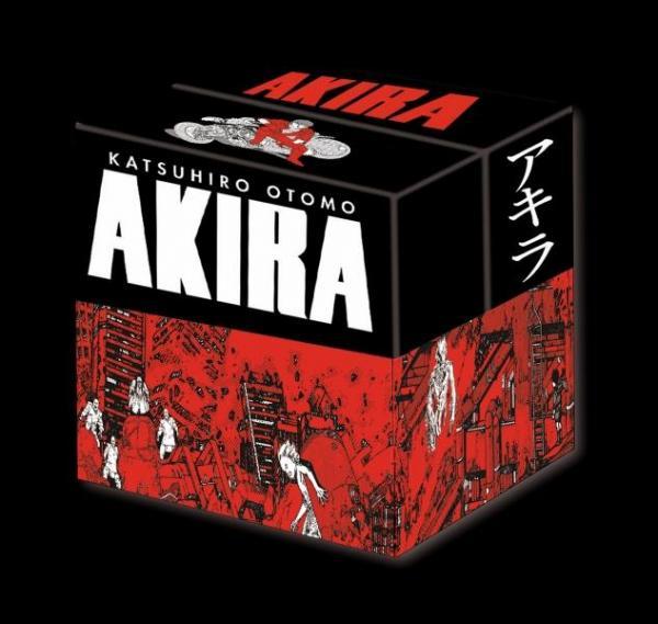 AKIRA (NOIR ET BLANC) -  EDITION ORIGINALE - COFFRET