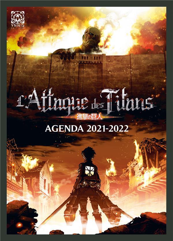AGENDA 2021-2022 L'ATTAQUE DES TITANS