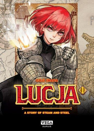 LUCJA, A STORY OF STEAM AND STEEL - TOME 1