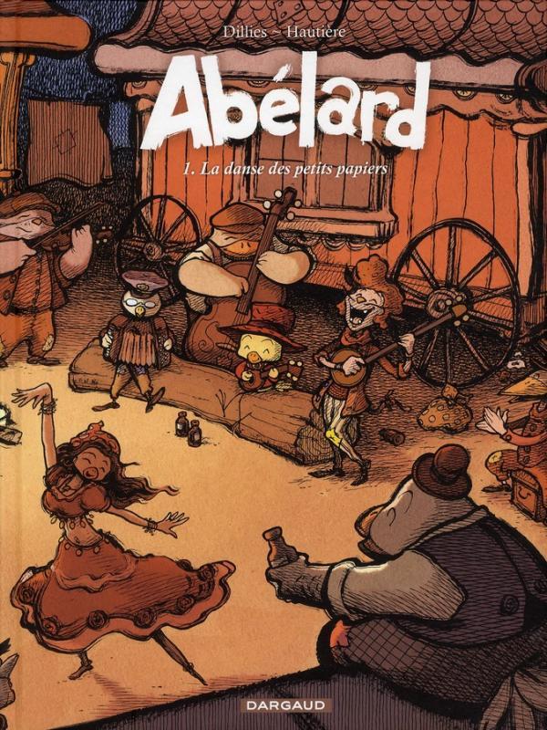 ABELARD - T01 - ABELARD - TOME 0 - LA DANSE DES PETITS PAPIERS