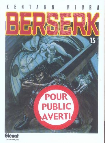 BERSERK - TOME 15
