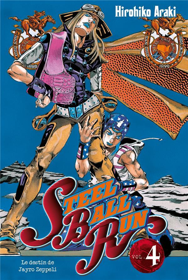 JOJO'S - STEEL BALL RUN T04