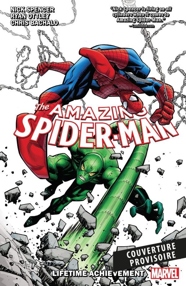 AMAZING SPIDER-MAN T03 : L'OEUVRE D'UNE VIE