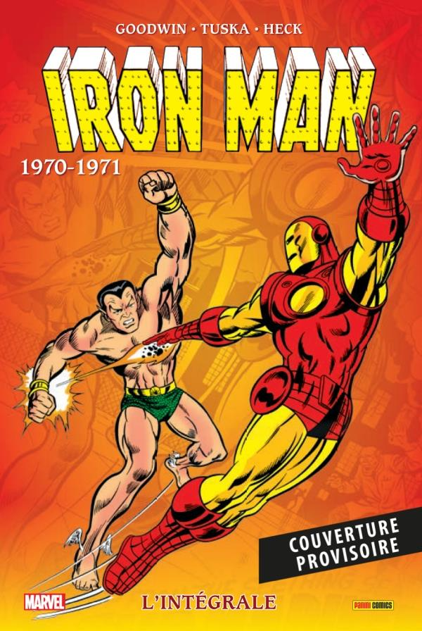 IRON MAN: L'INTEGRALE 1970-1971 (NOUVELLE EDITION)