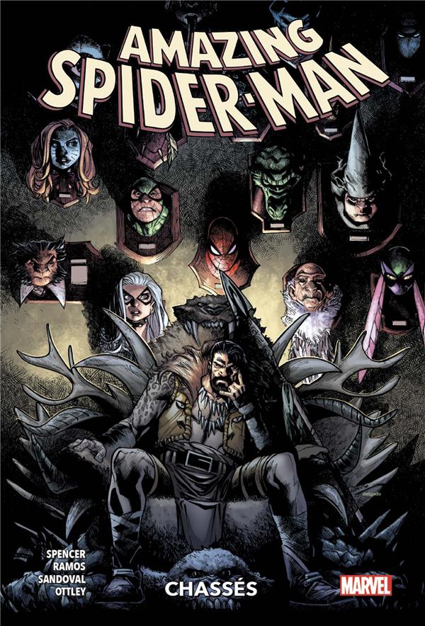 AMAZING SPIDER-MAN T04: CHASSES