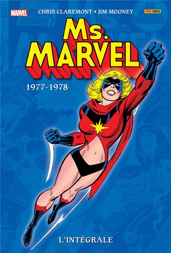 MS MARVEL: L'INTEGRALE 1977-1978 (T01)